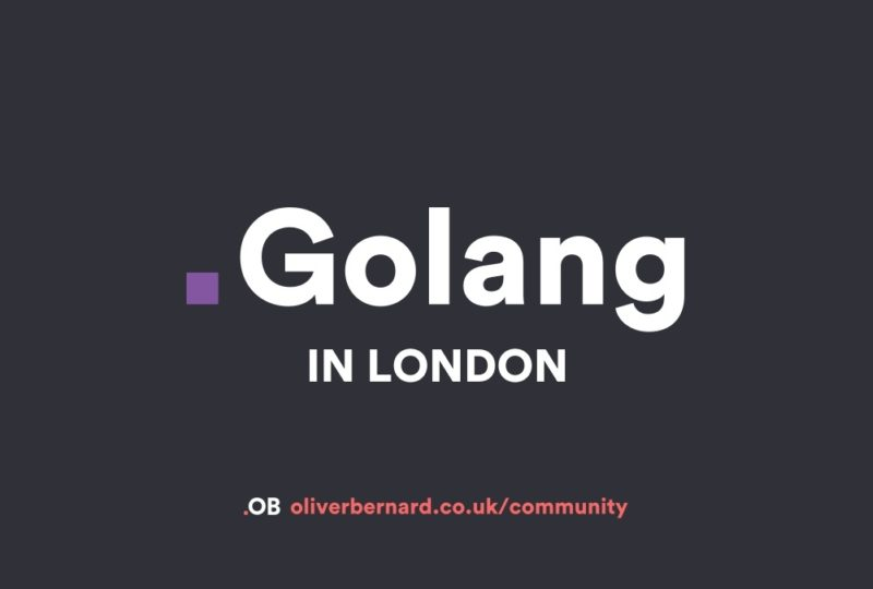 Golang In London with Robert Pajak - Create build pipelines in Go'